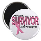 Breast Cancer Survivor Magnet