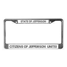 Cute News north License Plate Frame