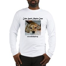 Cocker Spaniel Adoption Center Long Sleeve T-Shirt