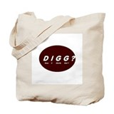 Cute Digg Tote Bag