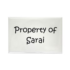 Unique Sarai Rectangle Magnet (10 pack)