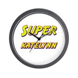 Super katelynn Wall Clock