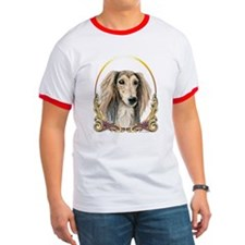 Saluki Dog Christmas T