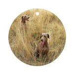 The Great Dane Ornament (Round)