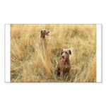 The Great Dane Sticker (Rectangle 50 pk)