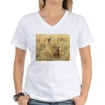 The Great Dane Women's V-Neck T-Shirt