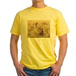 The Great Dane Yellow T-Shirt