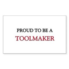 Proud to be a Toolmaker Rectangle Decal
