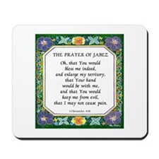 2 Prayers: Prayer of Jabez a Mousepad
