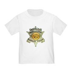 Navajo Livestock Police Toddler T-Shirt