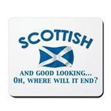 Good Lkg Scottish 2 Mousepad