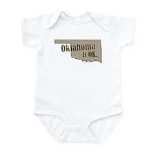 """Oklahoma"" Infant Bodysuit"