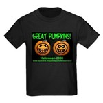 Great Pumpkins Kids Dark T-Shirt