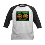Great Pumpkins Kids Baseball Jersey