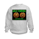 Great Pumpkins Kids Sweatshirt