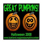 Great Pumpkins Tile Coaster