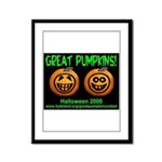Great Pumpkins Framed Panel Print
