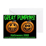 Great Pumpkins Greeting Card