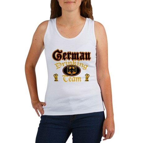 German Drinking Team Women's Tank Top