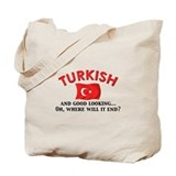 Good Lkg Turkish 2 Tote Bag
