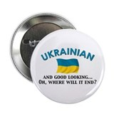 Good Lkg Ukrainian 2 2.25&quot; Button