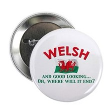 "Good Lkg Welsh 2 2.25"" Button (10 pack)"