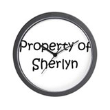 Unique Sherlyn Wall Clock