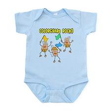Colorguard Rocks Infant Bodysuit