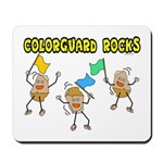Colorguard Rocks Mousepad