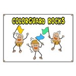 Colorguard Rocks Banner