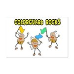 Colorguard Rocks Mini Poster Print