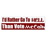 Hell Bumper Bumper Sticker