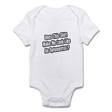 """Look Like an Optometrist?"" Infant Bodysuit"