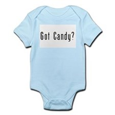 Cute Halloween candy Infant Bodysuit