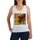 'The Hell Train' Women's Tank Top With Backprint