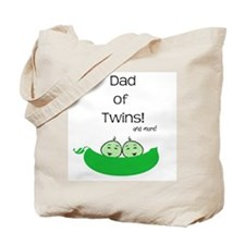 Dad of twins and more Tote Bag