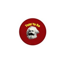 Karl Marx Mini Button