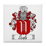 Scala Family Crest Tile Coaster
