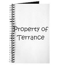 Unique Terrance name Journal