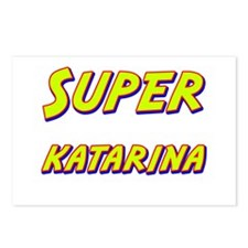 Super katarina Postcards (Package of 8)