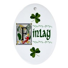Finlay Celtic Dragon Keepsake Ornament