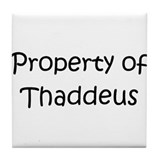 Unique Thaddeus Tile Coaster