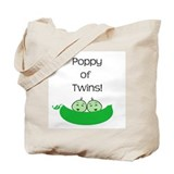 Poppy of twins Tote Bag
