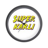 Super karli Wall Clock