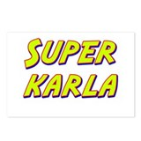 Super karla Postcards (Package of 8)
