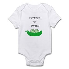 Brother of twins Infant Bodysuit
