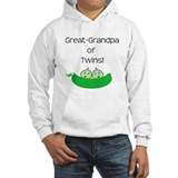 Great Grandpa of twins Hoodie Sweatshirt