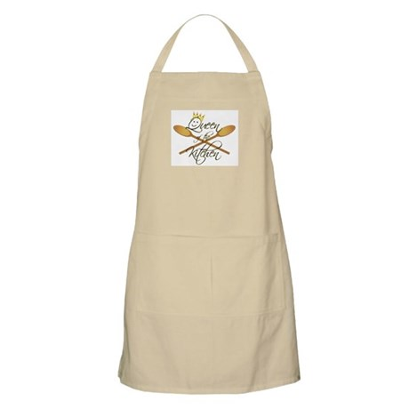 Queen of the Kitchen Apron (white)