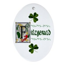 Fitzgerald Celtic Dragon Keepsake Ornament