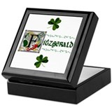 Fitzgerald Celtic Dragon Keepsake Box